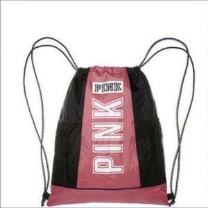 Victoria's Secret PINK Drawstring Mesh Backpack